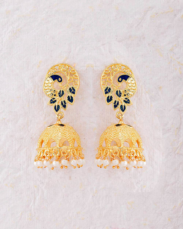 of glimour jhumka gold copy vintage jewellery earrings img indian